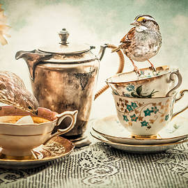 Teatime for the Birds by Maggie Terlecki