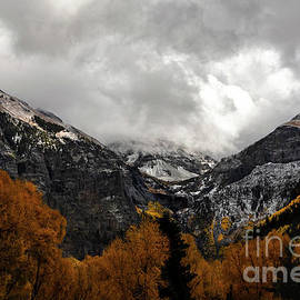 Telluride in Autumn Snow by Norma Brandsberg