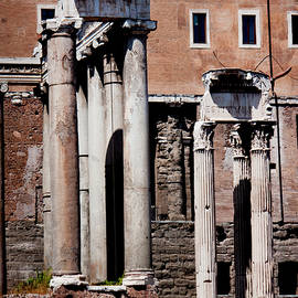 Temple Of Vespasian and Titus by Ivete Basso Photography