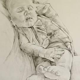 Tender and mild...sleep by Cathy Vinson