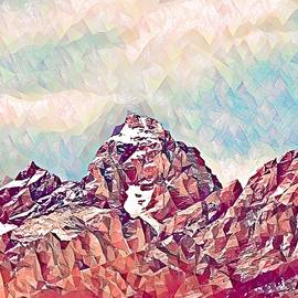 Teton Range Revisited by Jacob Von Sternberg