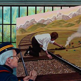 Teun Hocks Painting by Paul Meijering