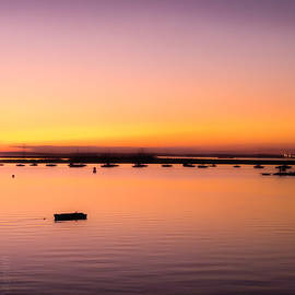 Thames Estuary from Queenborough  by Leigh Smith