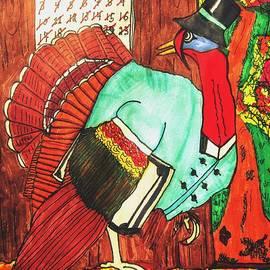 Thanksgiving Turkey Great Escape  by Jo-Ann Hayden