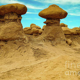 The abstract Goblin valley by Jeff Swan