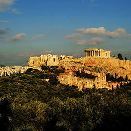 The Athens Acropolis by Cassi Moghan