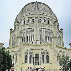 The Bahai Temple in Chicago, Illinois by Lyuba Filatova