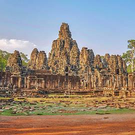 The Bayon at Angkor Wat by Rob Hemphill