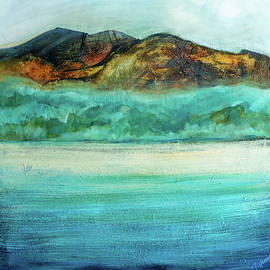 The Beach by Marijean Harris