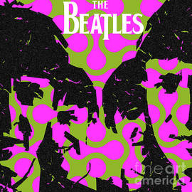 The Beatles Close Up by Pop Art World