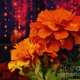 The Beauty Of Marigolds. by Trudee Hunter