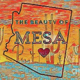 The Beauty of Mesa Arizona by Linda Weinstock