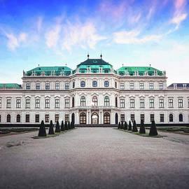 The Belvedere Vienna Austria  by Carol Japp