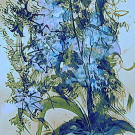 The Blue Bouquet by Nancy Kane Chapman