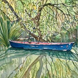 The Blue Canoe by Luisa Millicent