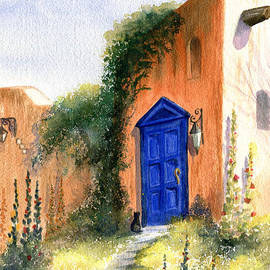 The Blue Door by Marilyn Smith