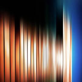 The blurred Fence by Imi Koetz