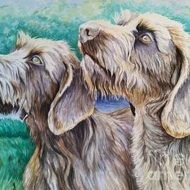 The Boehlerts' Hunting Dogs by Becky Miller