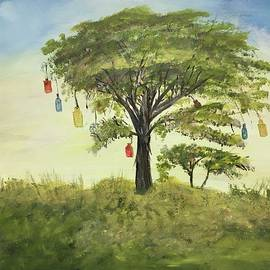 Bottle Tree  by Laura Kaye