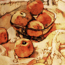 The Bountiful Feast - Asian Pears by Susan Maxwell Schmidt