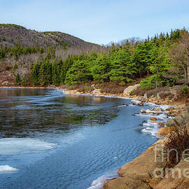 The Bowl Acadia National Park by Elizabeth Dow