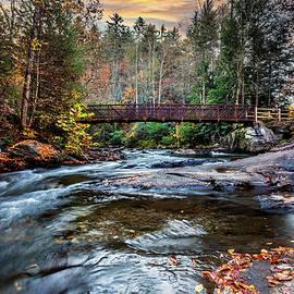The Bridge at Fires Creek by Debra and Dave Vanderlaan