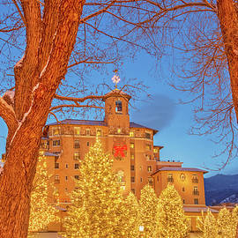 The Broadmoor District In Colorado Springs Is Posh, Luxurious, And Beautiful Beyond Description.  by Bijan Pirnia