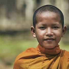 The buddha smile by Sergio Florez Alonso
