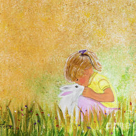The Bunny and the Little Girl by Deborah Klubertanz