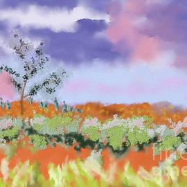The Bush Landscape by Arlene Babad