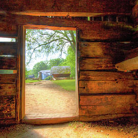 The Cabin at Cades Cove Townsend Tennessee by Debra and Dave Vanderlaan