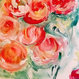 The camouflage of Roses by Judith Desrosiers