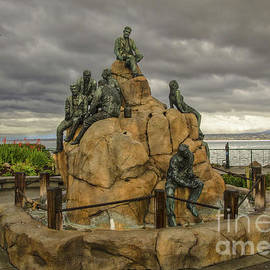 The Cannery Row Monument by Mitch Shindelbower