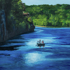 The Canoeists by Joannie Johnson