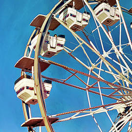 The Carnival Wheel by GW Mireles