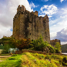 The Castle of Eilean Donan  by Debra and Dave Vanderlaan