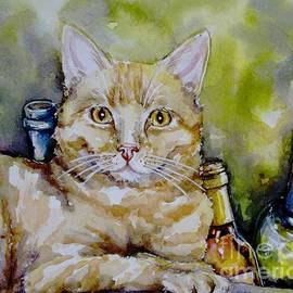 The Cat Connoisseur by Misha Ambrosia