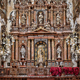 The Cathedral of Seville # 15 by Allen Beatty