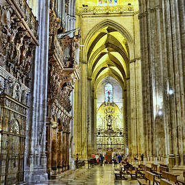 The Cathedral of Seville # 16 by Allen Beatty