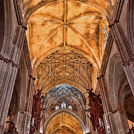 The Cathedral of Seville # 19 by Allen Beatty