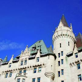 The Chateau Laurier Hotel by Stephanie Moore
