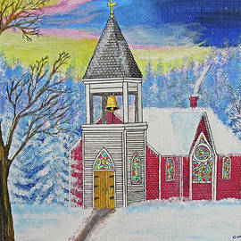 the Christmas church by Gordon Wendling