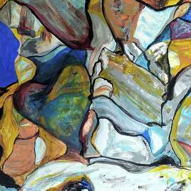 The Cliffs at Beit Govrin by Esther Newman-Cohen