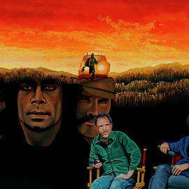 The Coen Brothers Painting by Paul Meijering