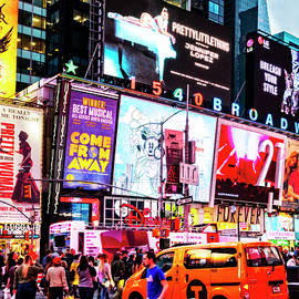 The Colors of Times Square by Kay Brewer