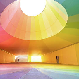 The colourful underpass by Dominik Gehl