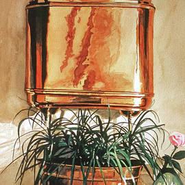 The Copper Lavabo by David Lloyd Glover
