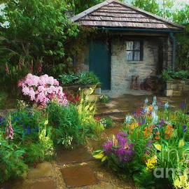 The Cottage and the Garden by Mike Nellums