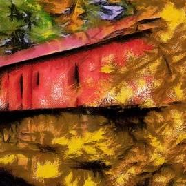 The Covered Bridge by Mario Carini