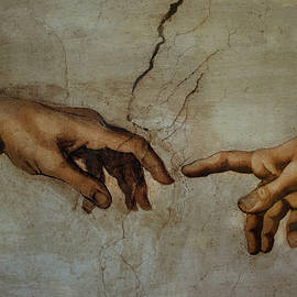 The Creation Of Adam by Ivete Basso Photography